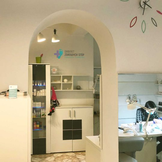 Gabinet Zdrowych Stóp gabinet kosmetyczny